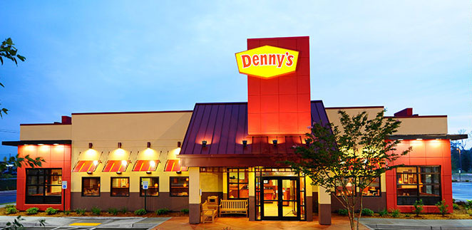 Text DOD to to get online ordering and delivery* through the Denny's app. You will receive two (2) autodialed messages. Msg & data rates may apply.