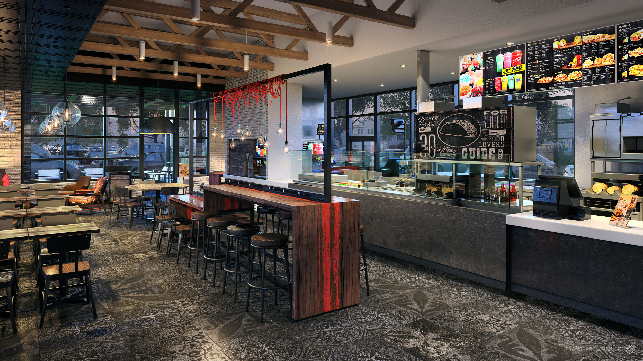 Taco bell debuts four new restaurant designs and they are