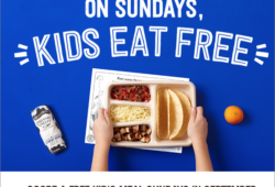 Chipotle Kids eat free Sundays in September